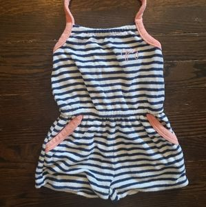 Juicy Couture toddler terry romper